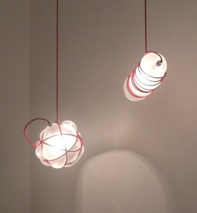 Suspension bien ficelée par Andrew O. Hughes, blog-espritdesign.com