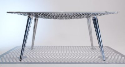 Table concept râpe par Daniel Rohr, blog-espritdesign.com