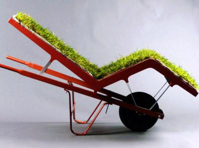 Chaise Lawn par Deger Cengiz