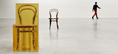 Chaise figée par Jaeuk Jung, blog-espritdesign.com