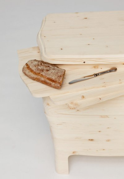 Buffet playwood par Silvia Knüppel, blog-espritdesign.com