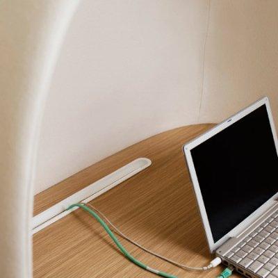 Cocon de travail par GamFratesi, blog-espritdesign.com