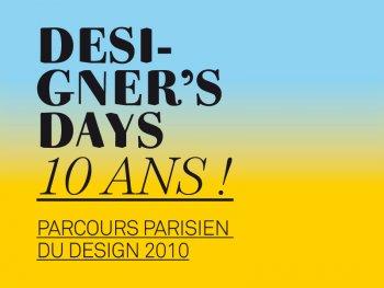 Designer's days 2010 - Palmares et Bilan