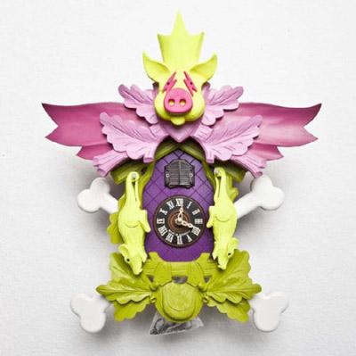 Carillon décalé par Stefan Strumbel, blog-espritdesign.com