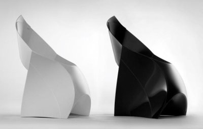 Veritable chaise origami par Douwe Jacobs