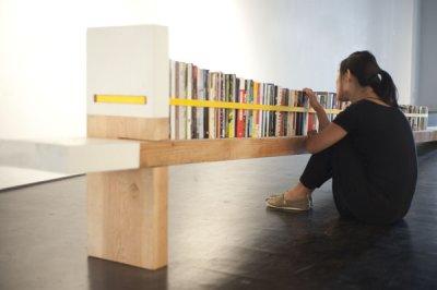 Bibliothèque atypique par Tim Durfee, blog-espritdesign.com