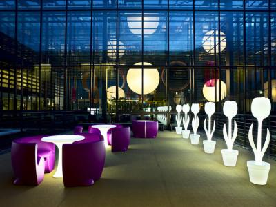 Tulip lumineuse par Moredesign, blog-espritdesign.com