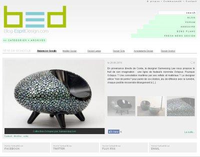 Version 3 du Blog Esprit Design