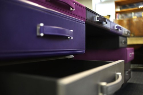 Bureau attachés cases par Maarten De Ceulaer