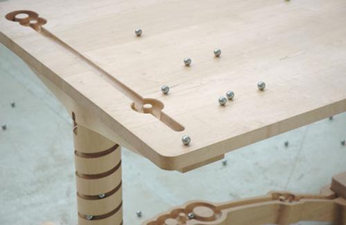 Table Marbelous par Tineke Beunders