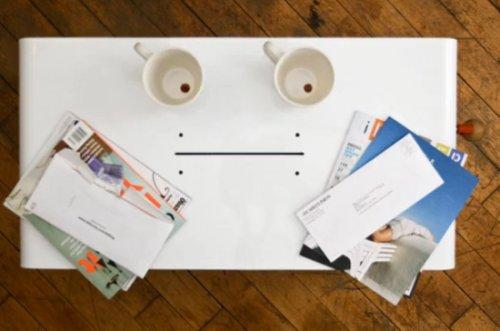 Table basse Papervore par Pigeontail