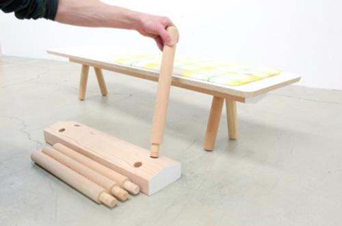 Concept PEG, mobilier à la carte par Studio Gorm