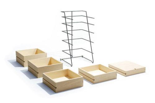 commode slybox par keiji ashizawa - blog esprit design - Meuble Design Japonais