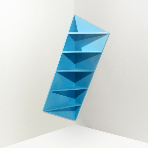 Trieta bibliothèque asymétrique par Marc Kandalaft