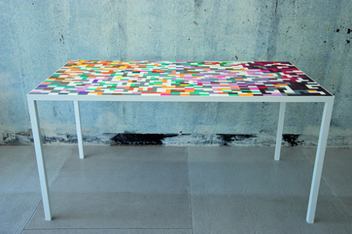 Table Domino par Thomas Pausz