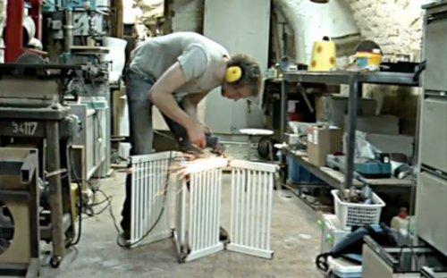Fauteuil radiateur par Jeroen Wesselink