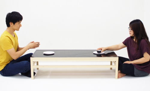 Table ondulation par Jeonghwa Seo et Hanna Chung