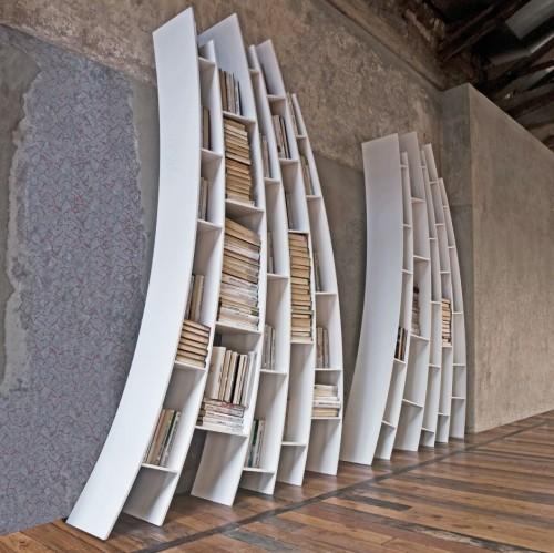 Bibliothèque en mouvement par Giuseppe Vigano