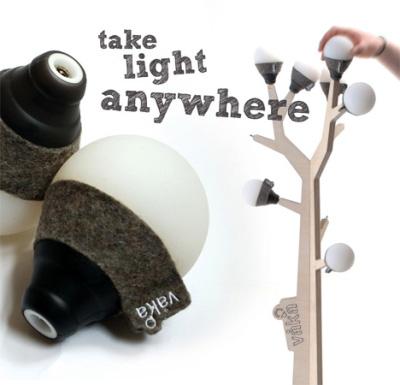 l'arbre à lumière par Ian Bach