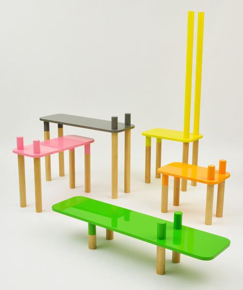 Mobilier Jungle par Rui Alves