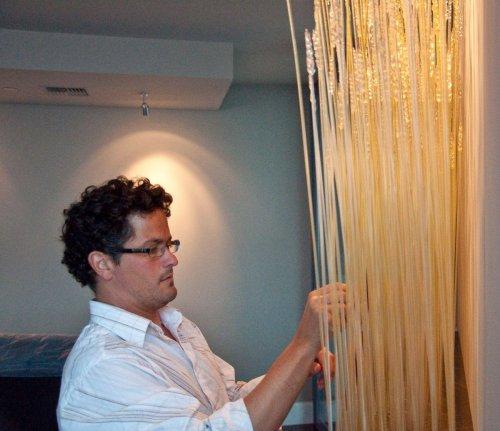 Champ de blé intérieur par Jean-Pierre Canlis