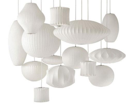 bubble lampe par george nelson blog esprit design. Black Bedroom Furniture Sets. Home Design Ideas