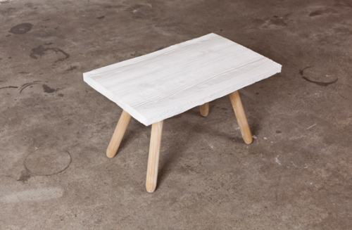 Table basse en céramique par Kai Linke