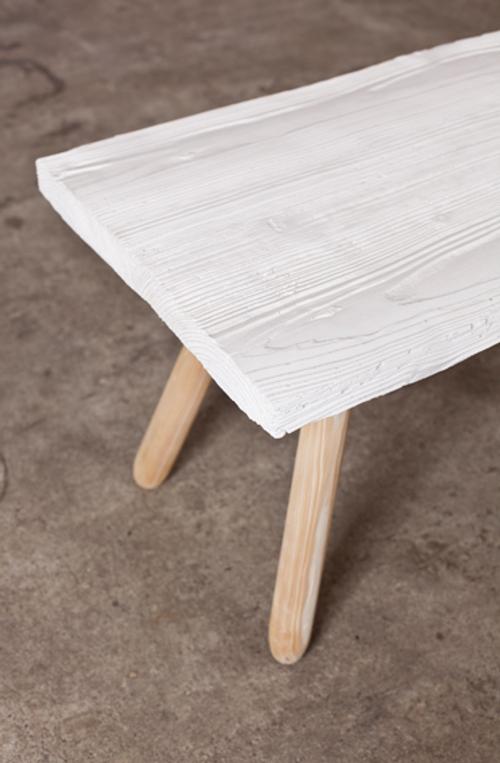 Table basse en céramique par Kai Linke