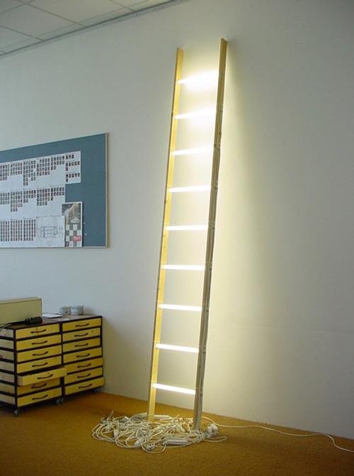 Helmut Smits designer d'idée hollandais ; échelle ladder