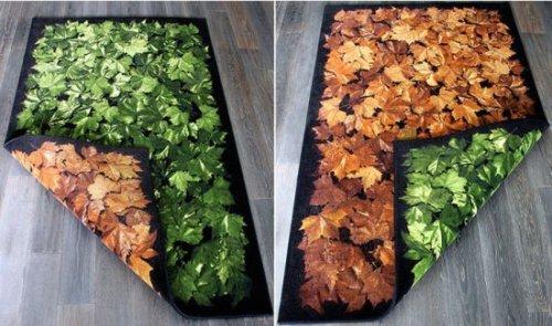 Un tapis par saison