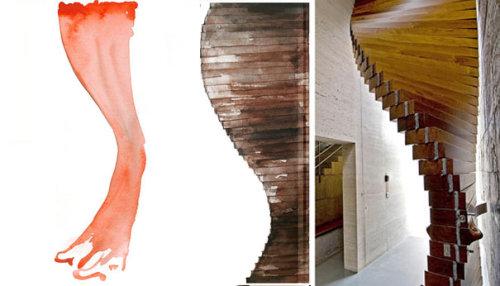 Le rideau de porte par Matharoo Associates