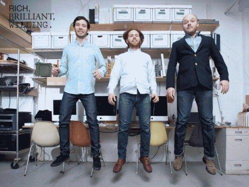 Luminaires Excel par le studio Rich Brilliant Willing