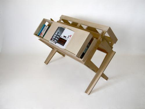Bibliothèque intelligente par Fotis Evans