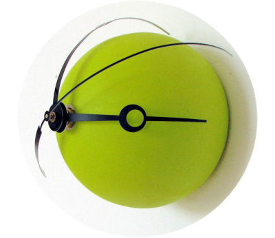 Horloge pop Bubble par Darien Lee