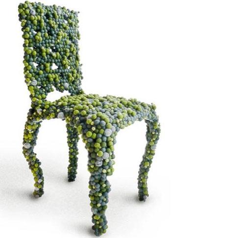 Chaise moléculaire par Antonio Pio Saracino