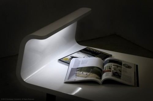 Table lampe par Orcadesign