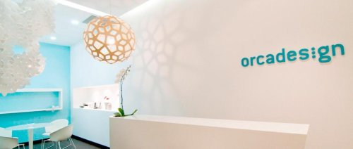 Table lampe par orcadesign blog esprit design for Distance entre table et luminaire