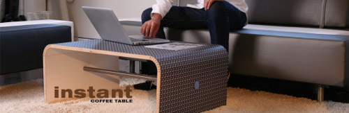 Table basse FLOPPY par Scale 1:1