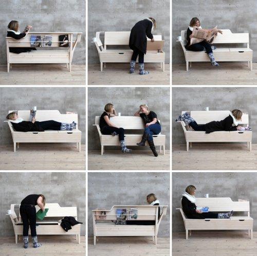 Banc fonctionnel par emma nilsson et johanna westin blog esprit design - Banc contemporain ...