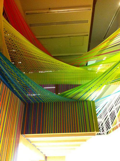Performance : Installation par Megan Geckler