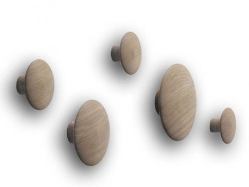 The dots - Ensemble de 5 patères