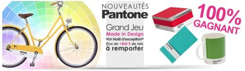 Concours Made In Design – Pantone