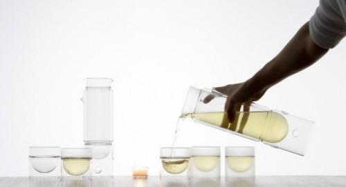 Jeu de verre Float par Molo Design