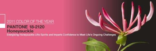 Rose foncé chèvrefeuille, couleur pour 2011