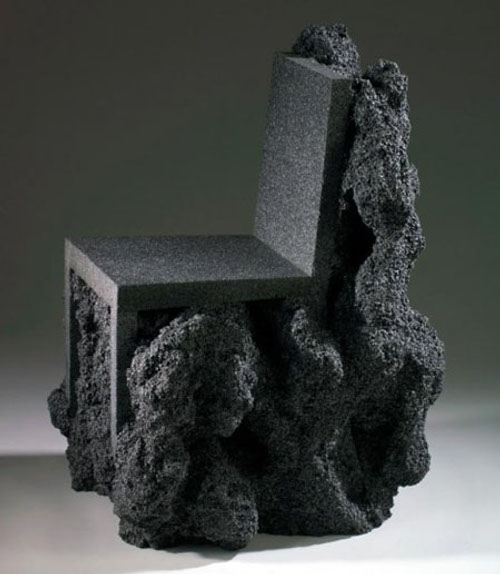 Chaise volcanique par Ian Blasco