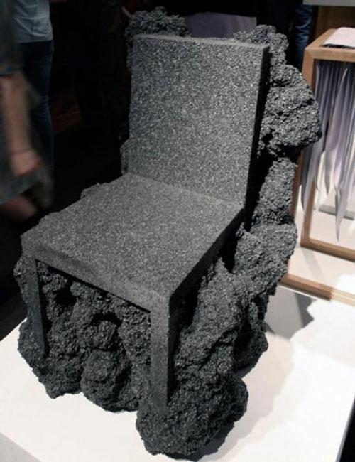 Chaise volcanique par Ian Blasco