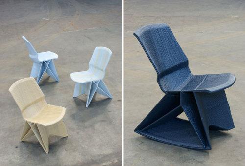 Chaise sans fin par Dirk Vander Kooij