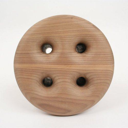 Tabouret bouton par Christopher Kurtz