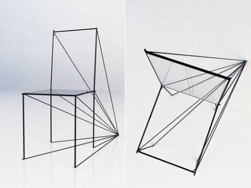 Très Chaise perspective par Zigert Artem - Blog Esprit Design SL39