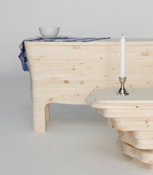 Buffet playwood par Silvia Knüppel